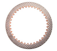 Kamaz friction disc