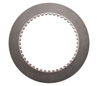 Fork lift friction disc